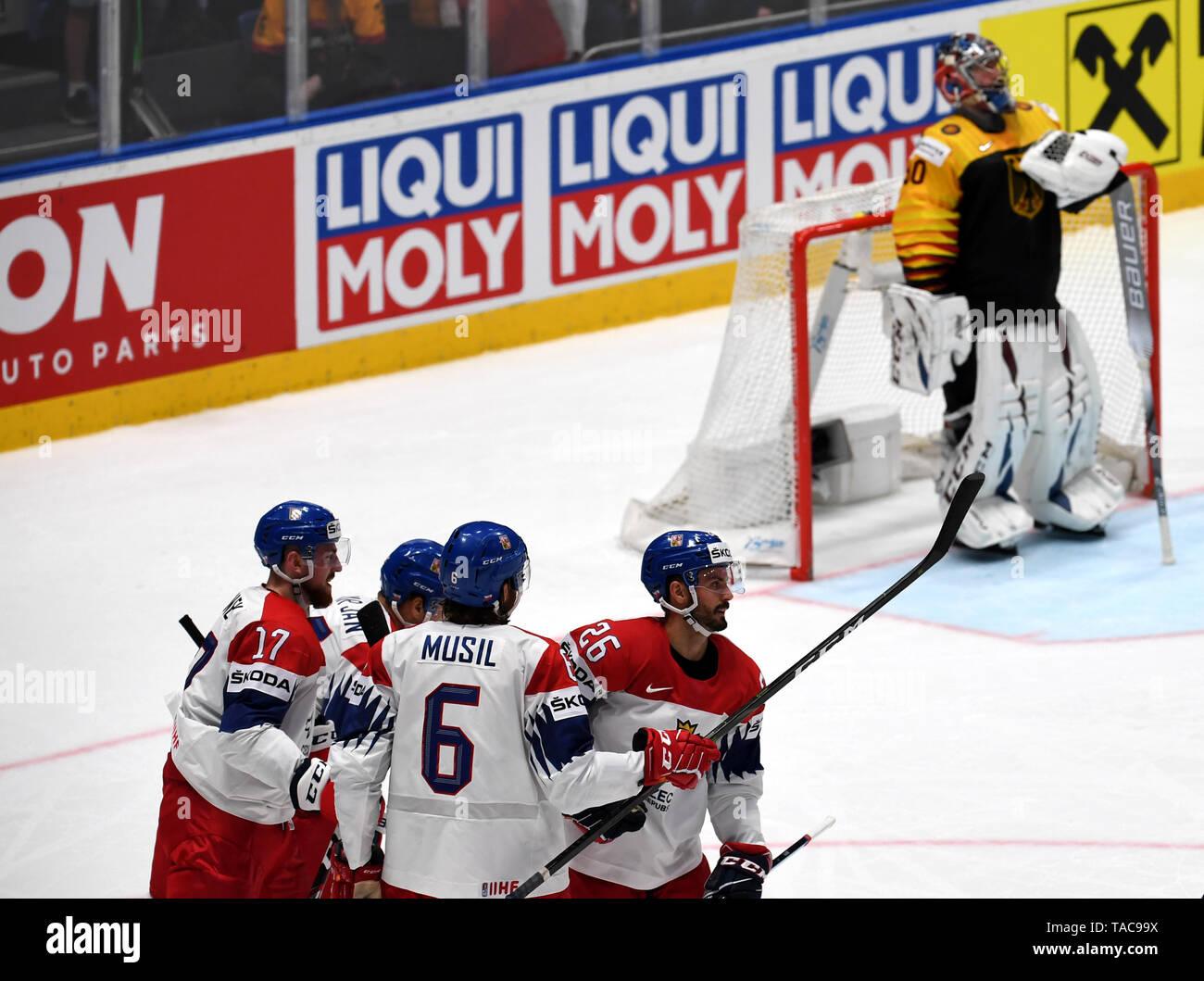 Bratislava, Slovakia  23rd May, 2019  Ice hockey: World