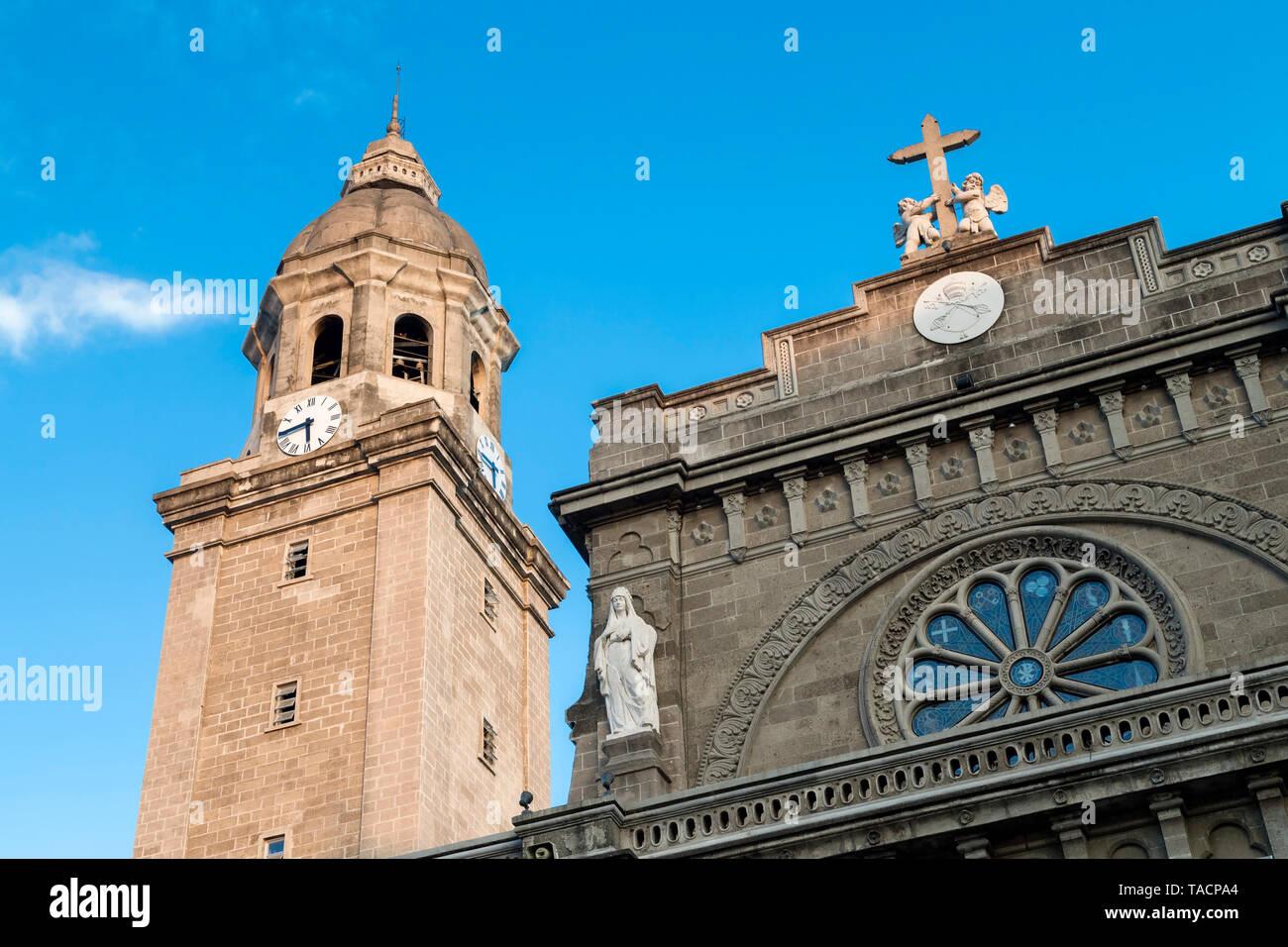 Manila Cathedral, Intramuros, Philippines - Stock Image