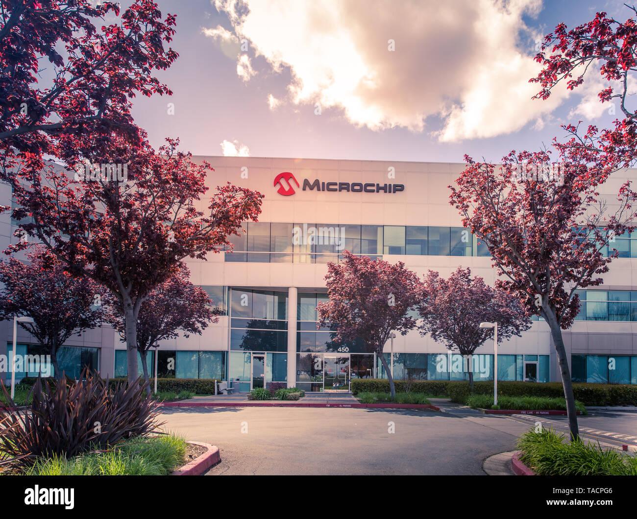 San Jose, CA/ USA - March 26, 2019: Microchip Technology Inc