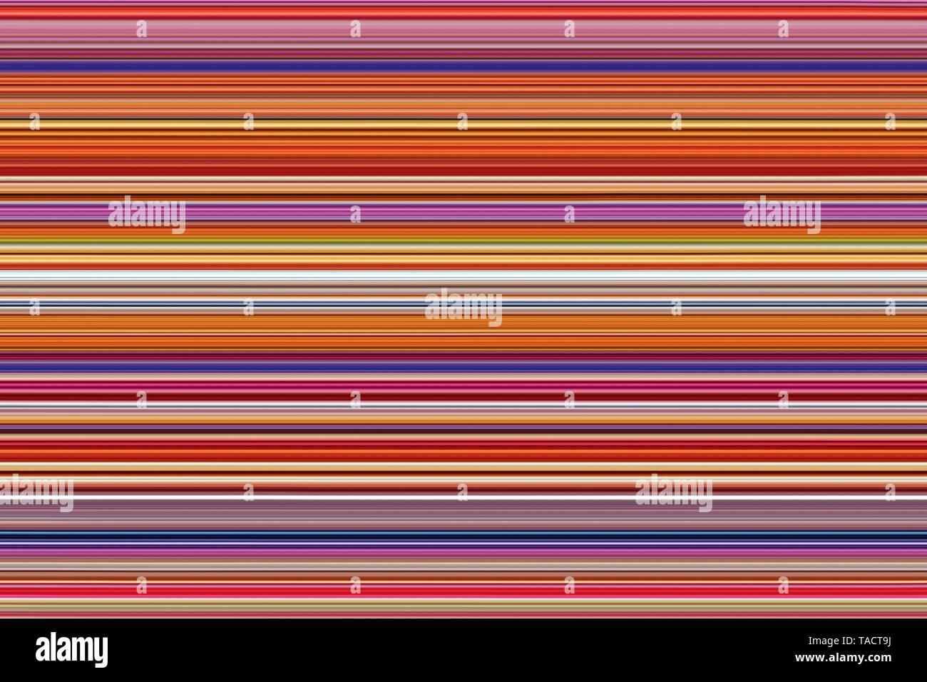 Modern fine art computer digital paintings creative hypnotist imagination colourful line vhm 10/11/2014. - Stock Image