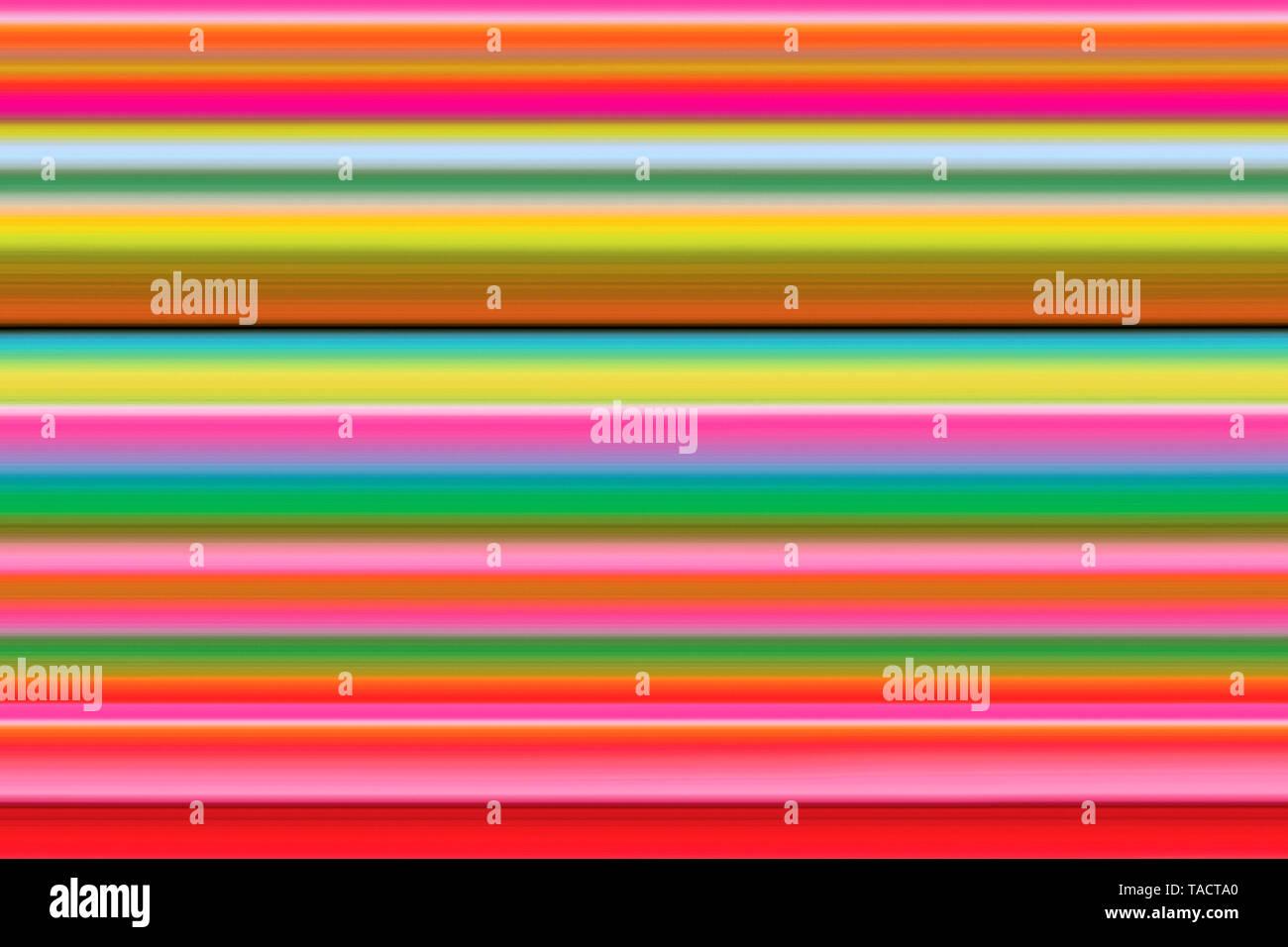 Modern fine art computer digital paintings creative hypnotist imagination colourful line vhm 11/11/2014. - Stock Image