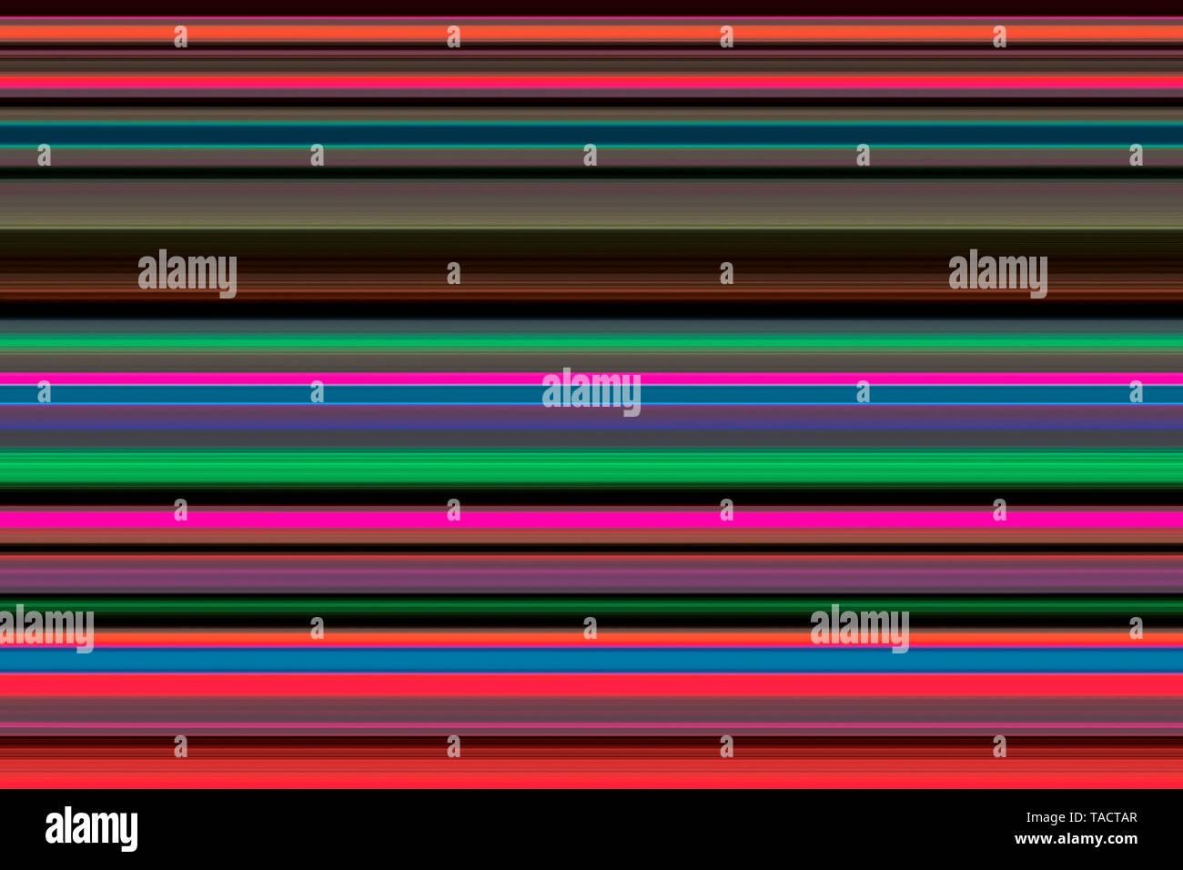 Modern fine art computer digital paintings creative hypnotist imagination colourful line vhm 12/11/2014. - Stock Image