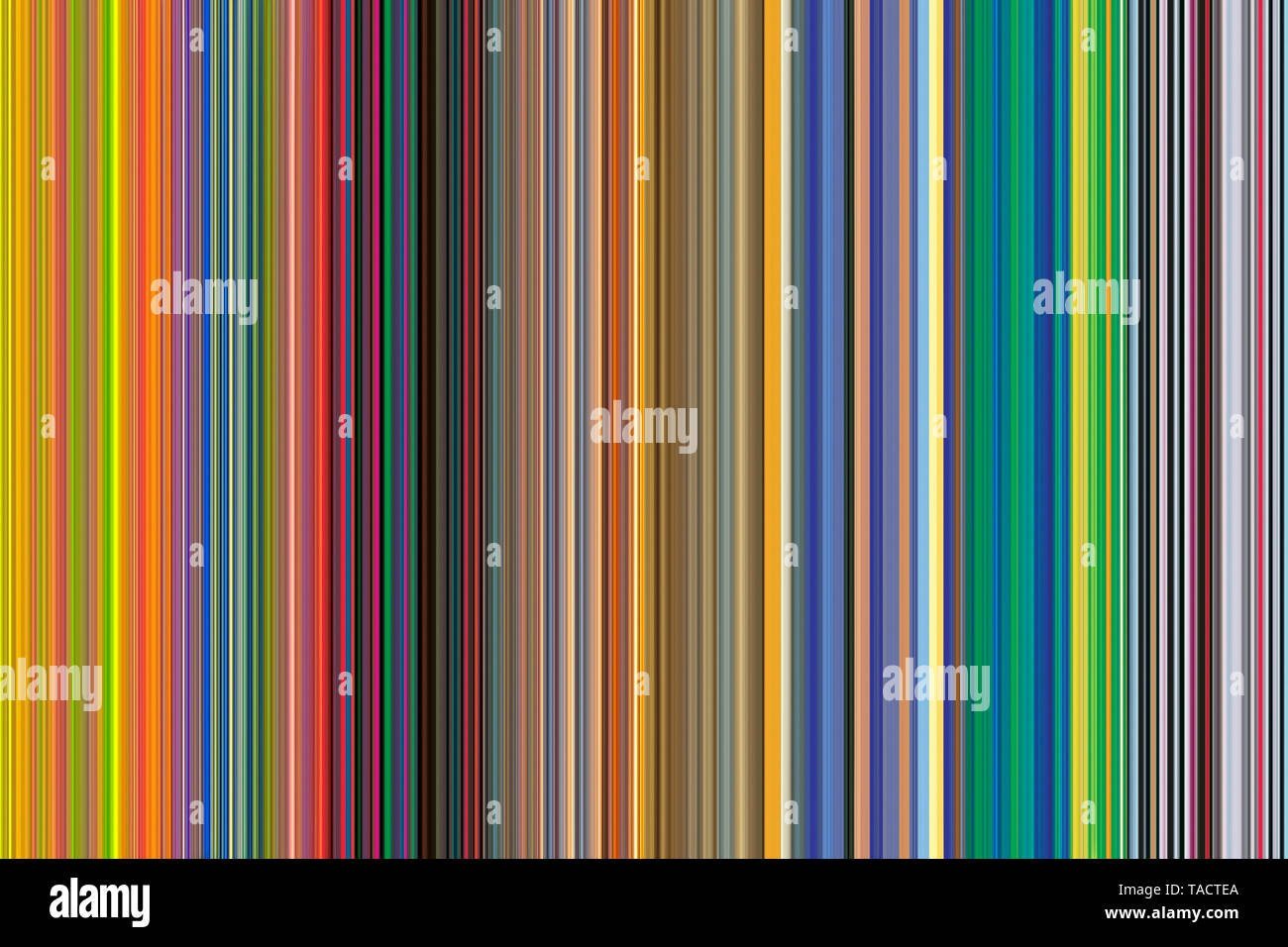 Modern fine art computer digital paintings creative hypnotist imagination colourful line vhm 31/3/2015. - Stock Image