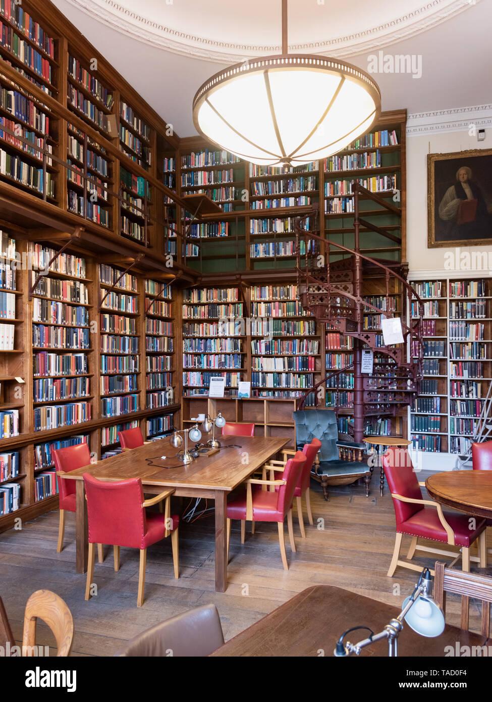 Christ Church Library, Oxford University, UK Stock Photo