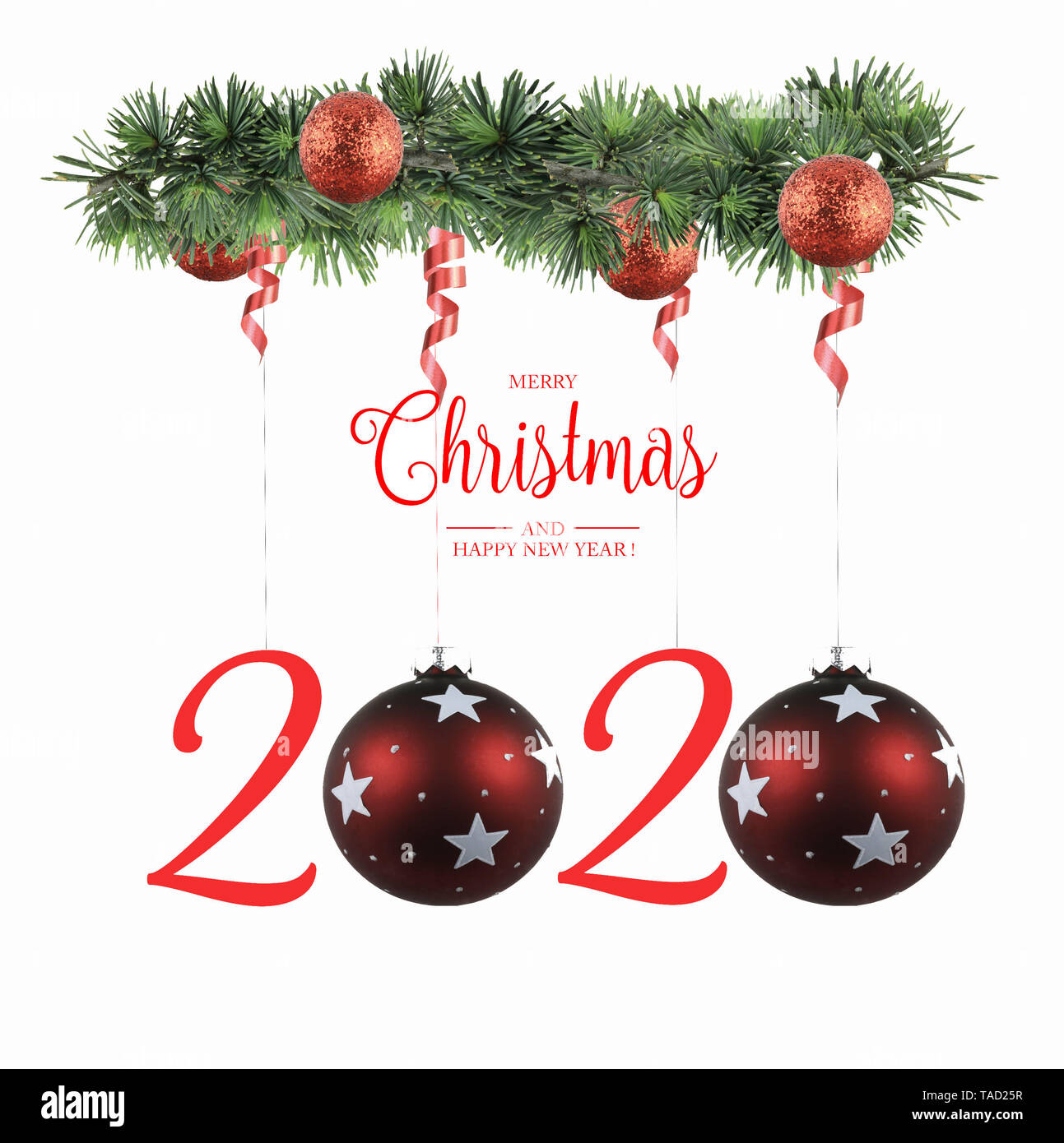 Christmas Cards 2020 Happy New Year 2020 Greeting Cards Stock Photo   Alamy