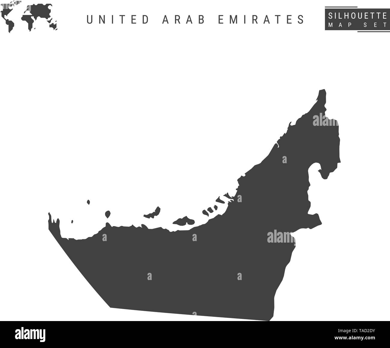 Map Of Uae Stock Photos & Map Of Uae Stock Images - Alamy