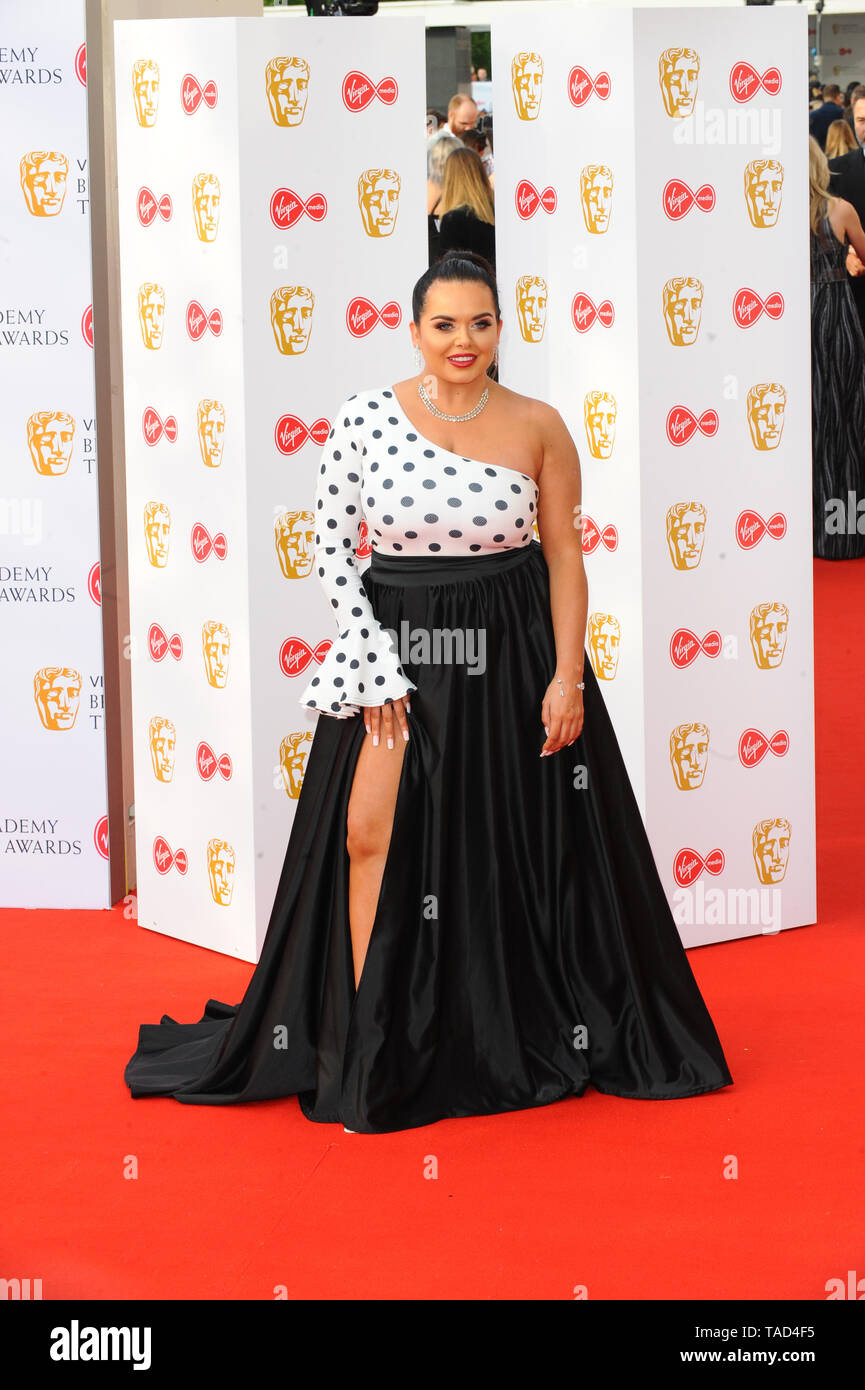 Scarlet Moffitt At The British Academy Television Awards Sponsored By Virgin Media Festival Hall Southbank London Stock Photo Alamy