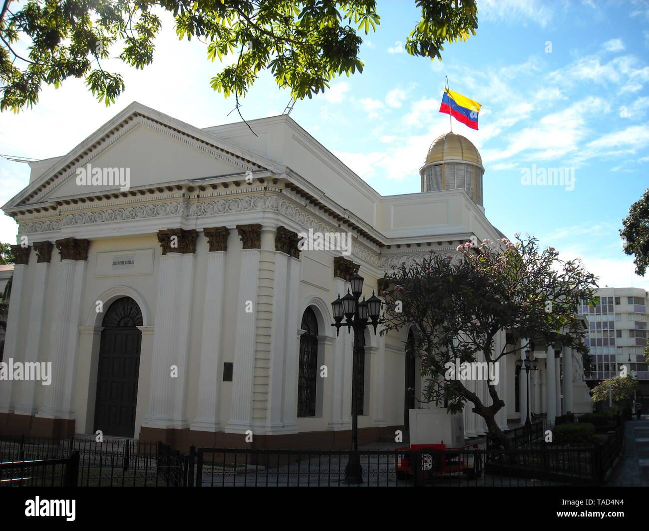 Caracas,Venezuela, National Assembly,Capitolio,Congress. - Stock Image