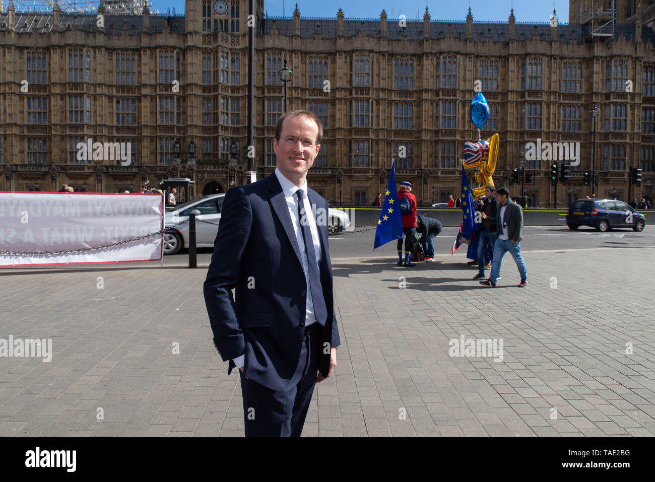 Matthew Elliott is a British political strategist and lobbyist involved in several successful referendum campaigns, including the Brexit campaign. - Stock Image