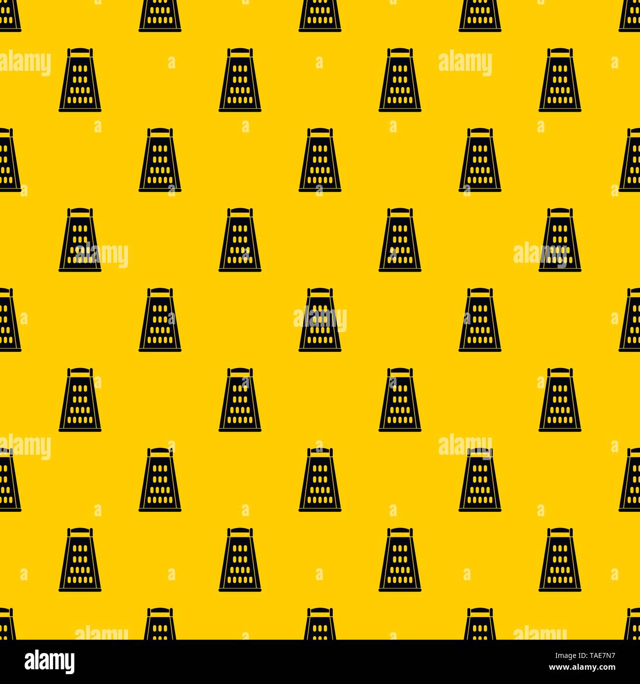 Kitchen grater pattern vector - Stock Image