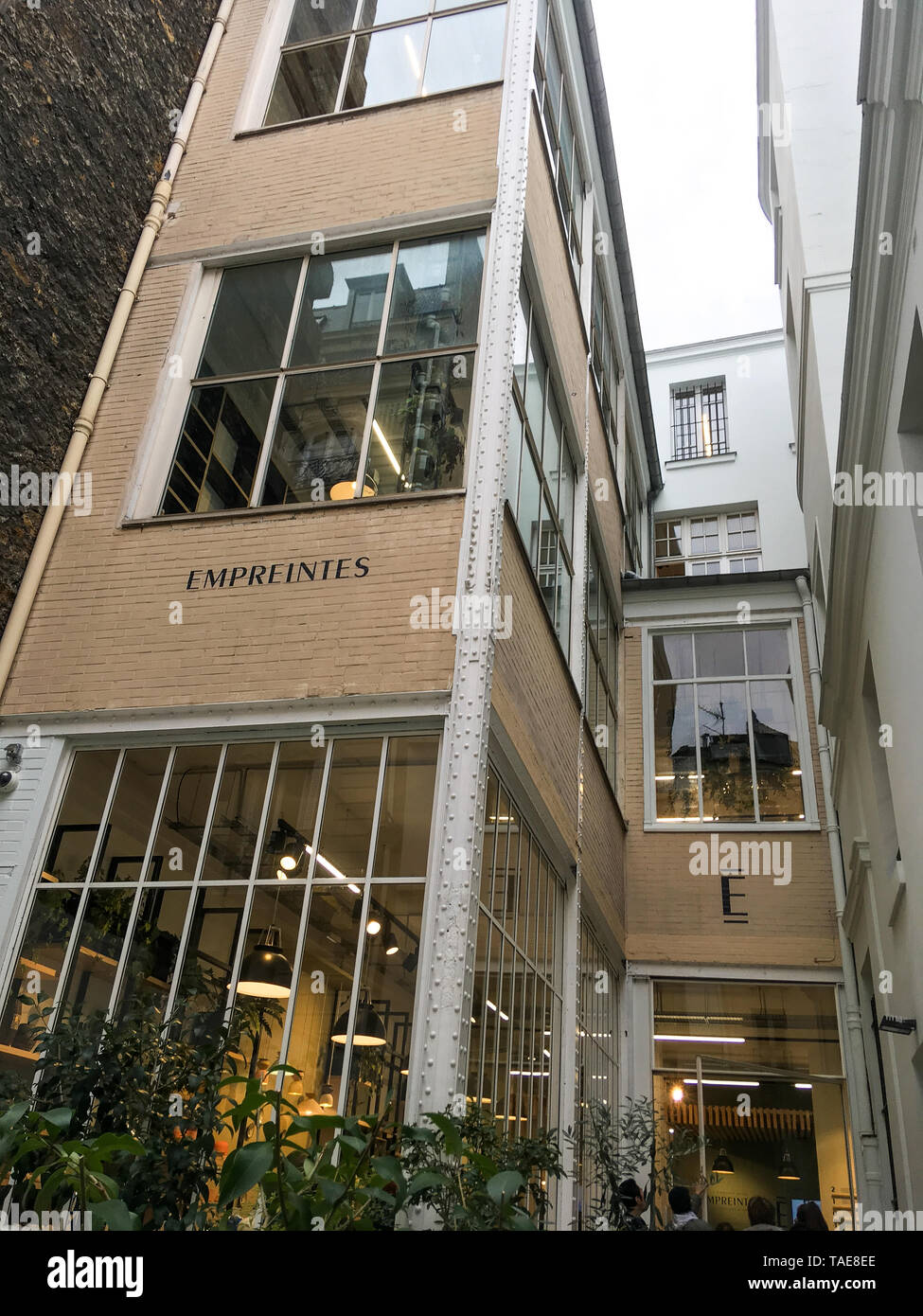 Empreintes, Concept store for arts & crafts professions, Paris, France - Stock Image