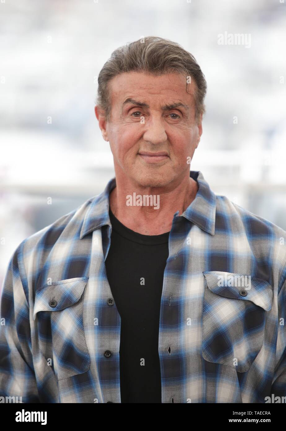 SYLVESTER STALLONE, 2019, CANNES - Stock Image