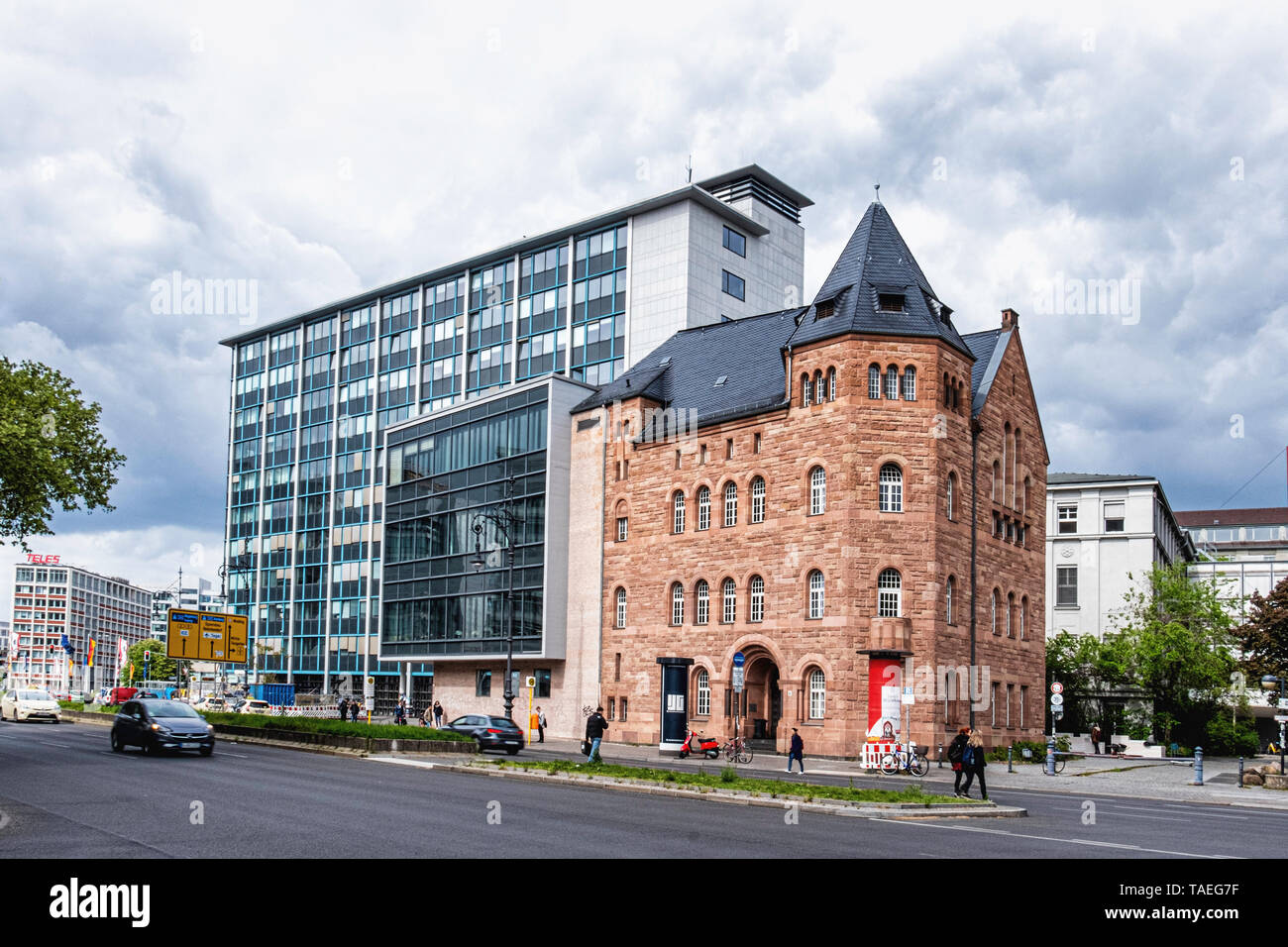 Faculty of Music Of the University of the Arts Building In Charlottenburg Berlin. . Former Institute for Sacred Music. Historic listed building Stock Photo