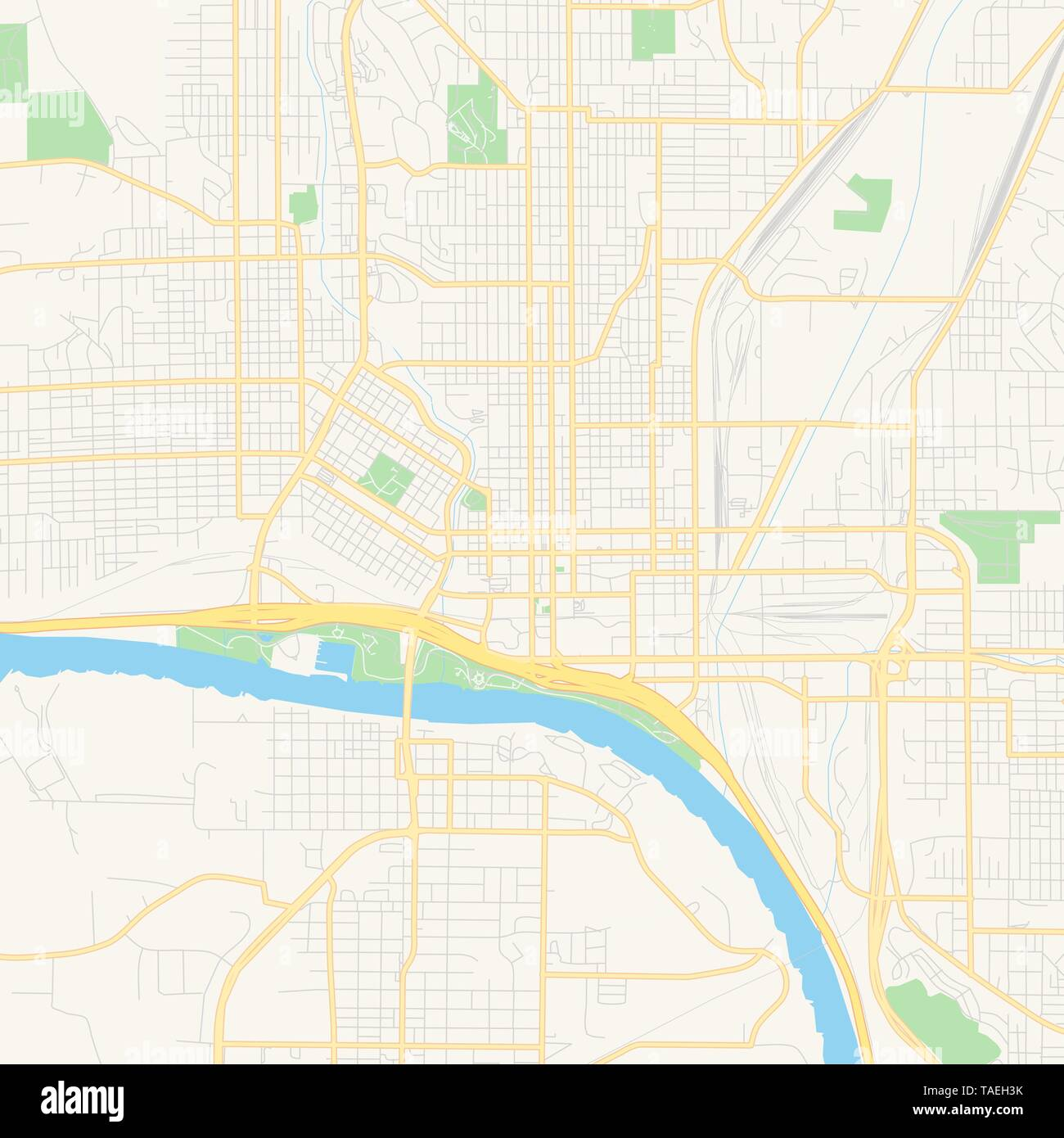 Iowa Infographic Stock Photos & Iowa Infographic Stock