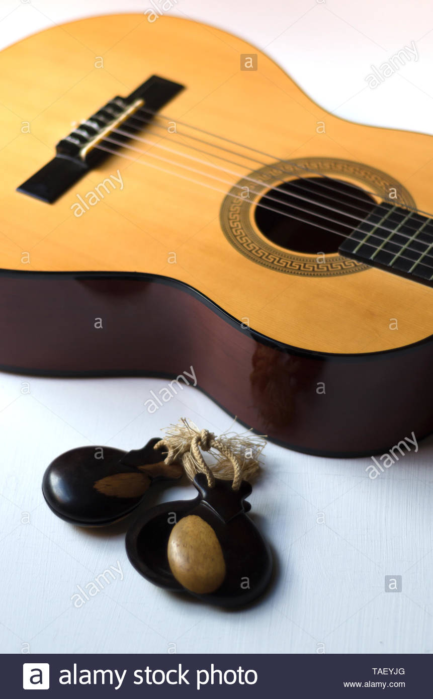Castanets Percussion Instrument Stock Photos & Castanets ...