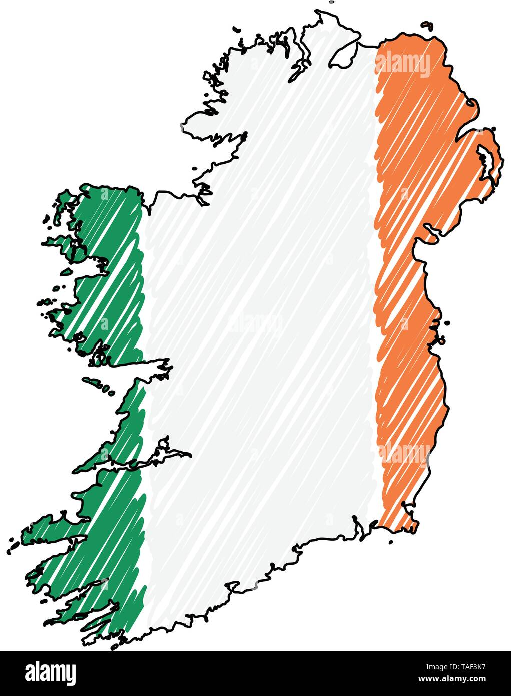 Map Of Ireland Drawing.Map Ireland Drawing Stock Photos Map Ireland Drawing Stock