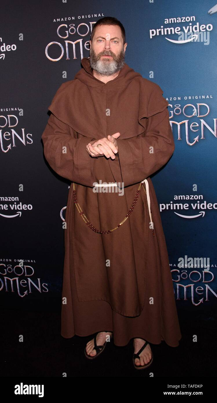 New York, NY, USA. 23rd May, 2019. Michael Sheen at arrivals for Screening of Amazon Prime Original GOOD OMENS, Whitby Hotel, New York, NY May 23, 2019. Credit: RCF/Everett Collection/Alamy Live News - Stock Image