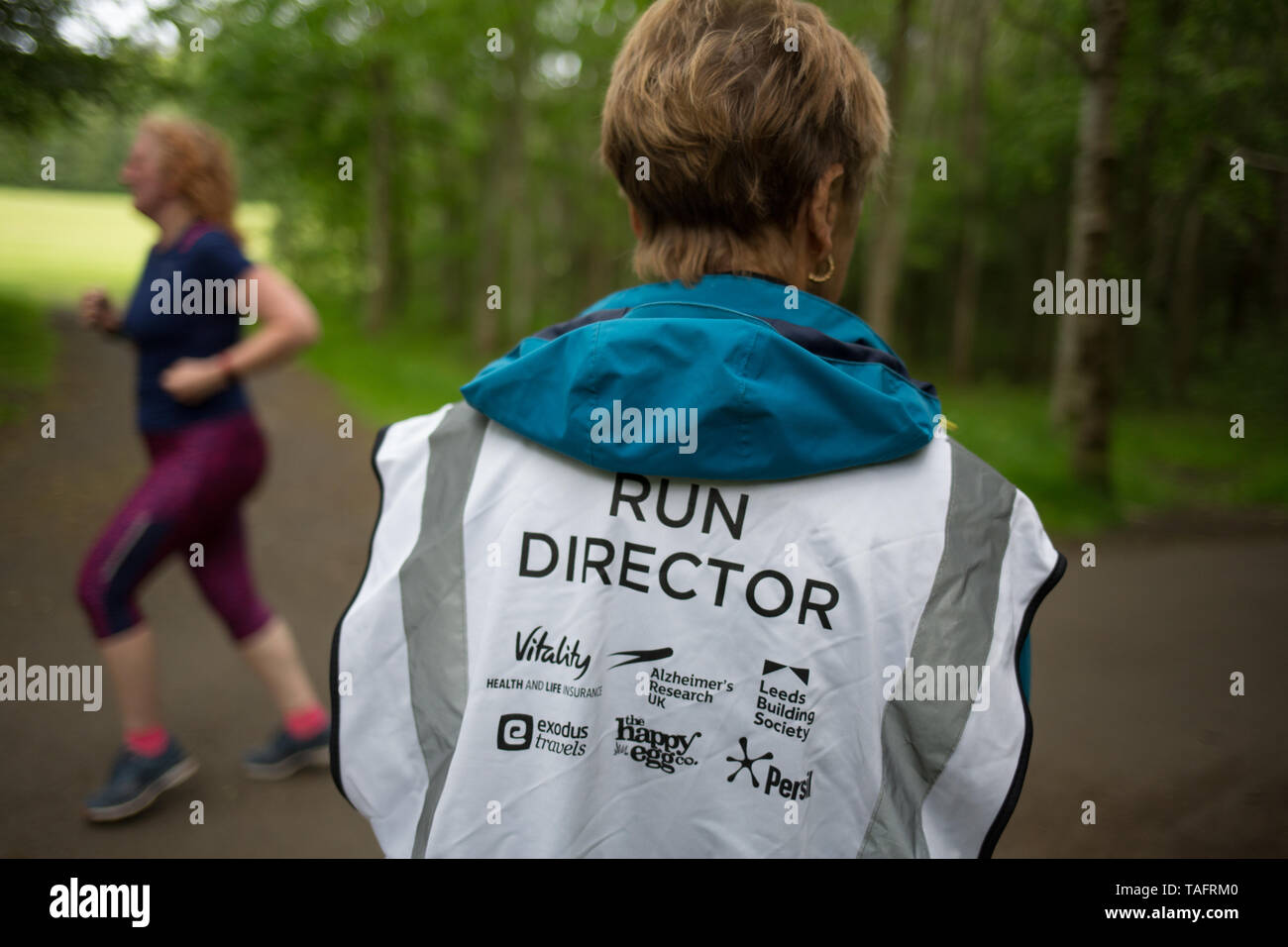 Glasgow, UK  25th May, 2019  The 534th free and timed Parkrun event