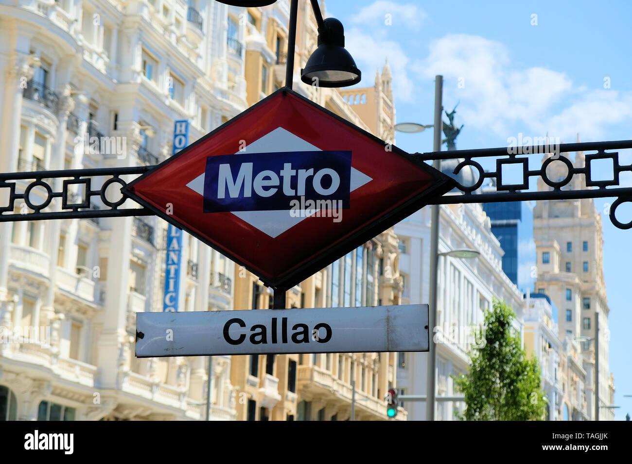 Metro Callao Stock Photos Metro Callao Stock Images Alamy