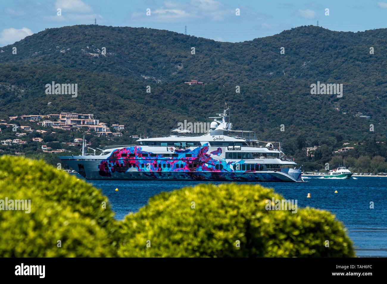 Saint Tropez, France Cote d Azur Marine Services - SALUZI Yacht