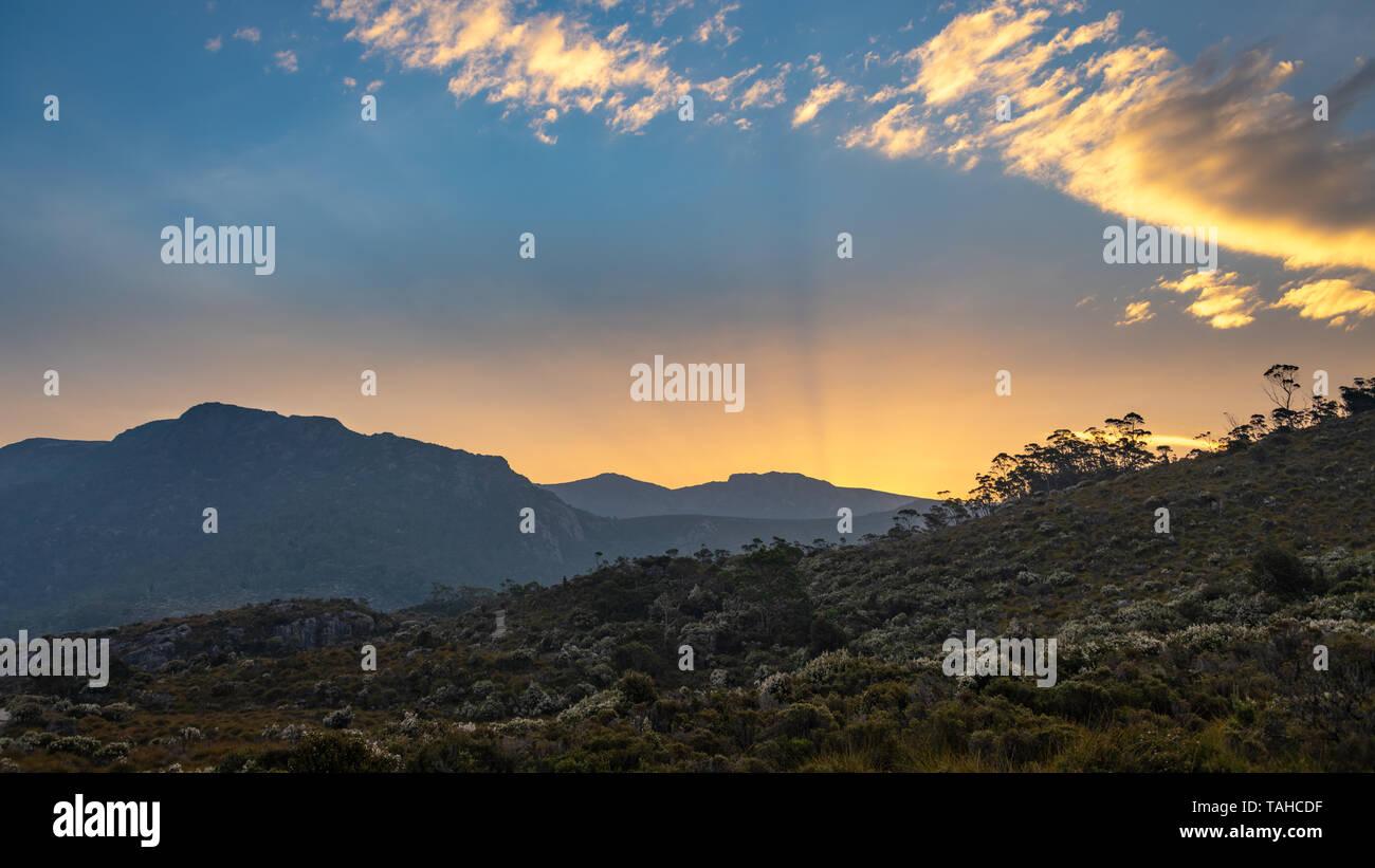 Cradle Mountain National Park, Tasmania - Stock Image