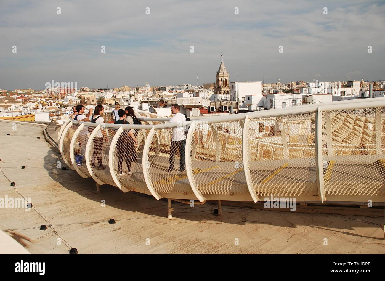 Las Setas De Sevilla Stock Photos & Las Setas De Sevilla