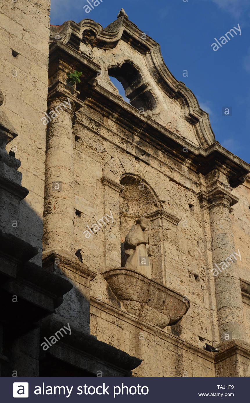 Saint Francis of Assisi Basilica, Old Havana, Cuba Stock Photo