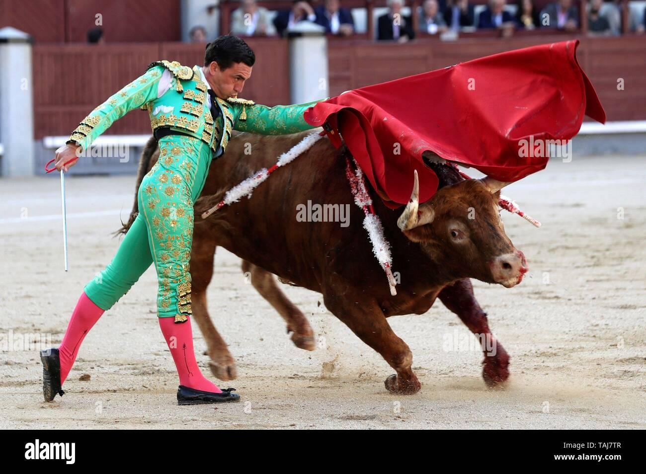 Madrid, Spain  25th May, 2019  Spanish bullfighter Octavio Chacon