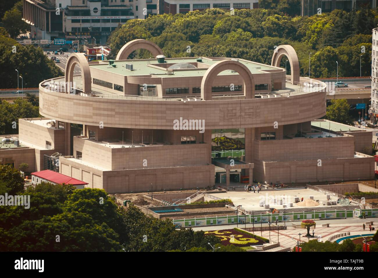Shanghai Museum - one of the most fascinating museums in the world - Stock Image