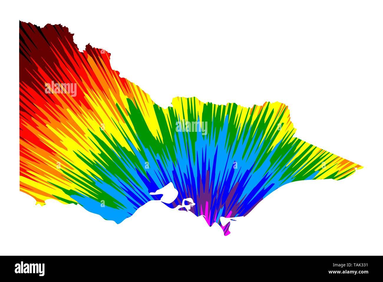 Australia Map States And Territories.Victoria Australian States And Territories Vic Map Is Designed