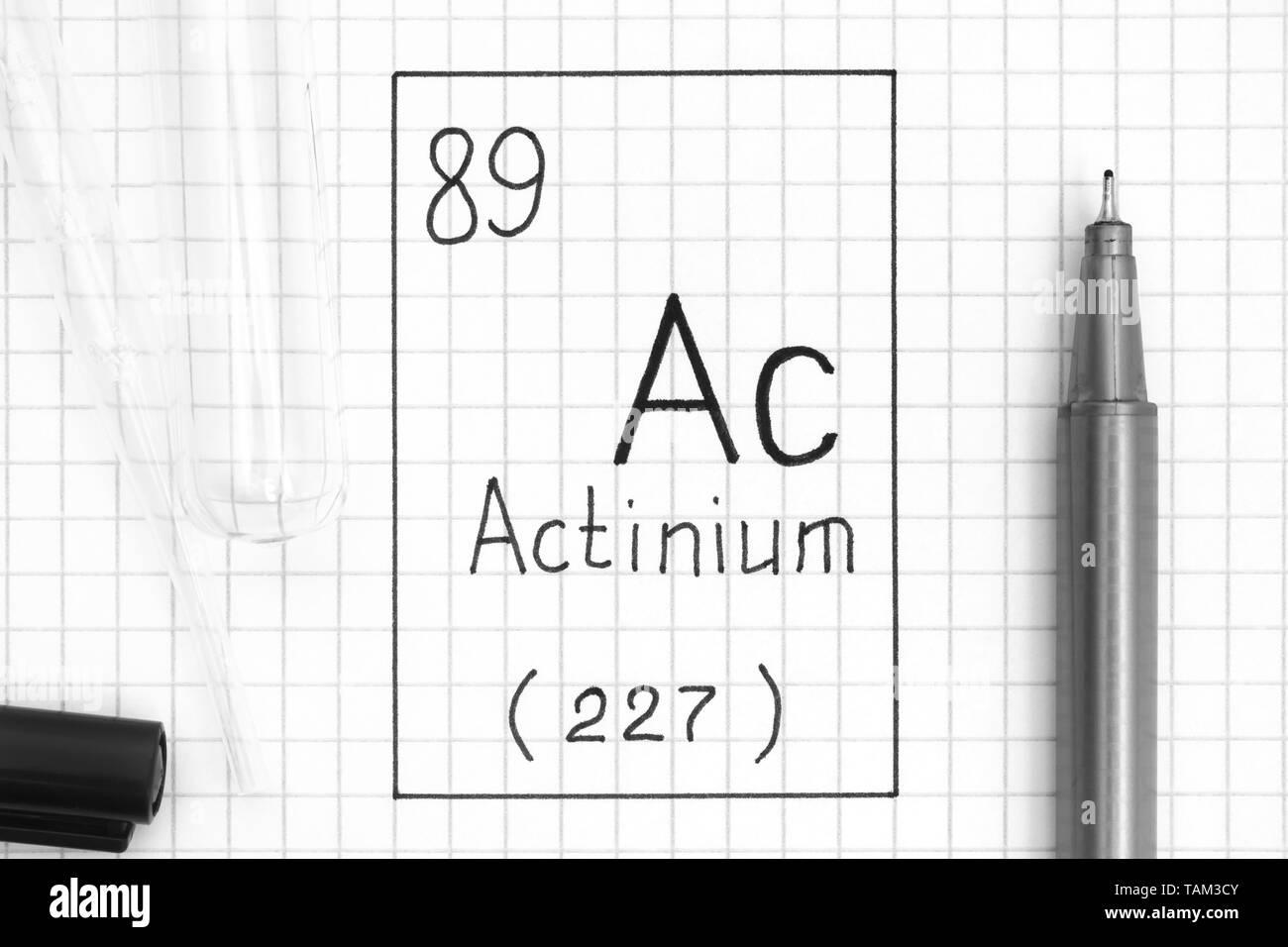 Actinium Stock Photos & Actinium Stock Images - Alamy
