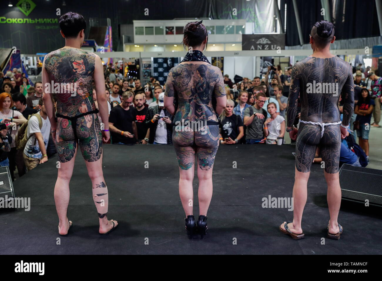 Tattoo Models Stock Photos & Tattoo Models Stock Images - Alamy