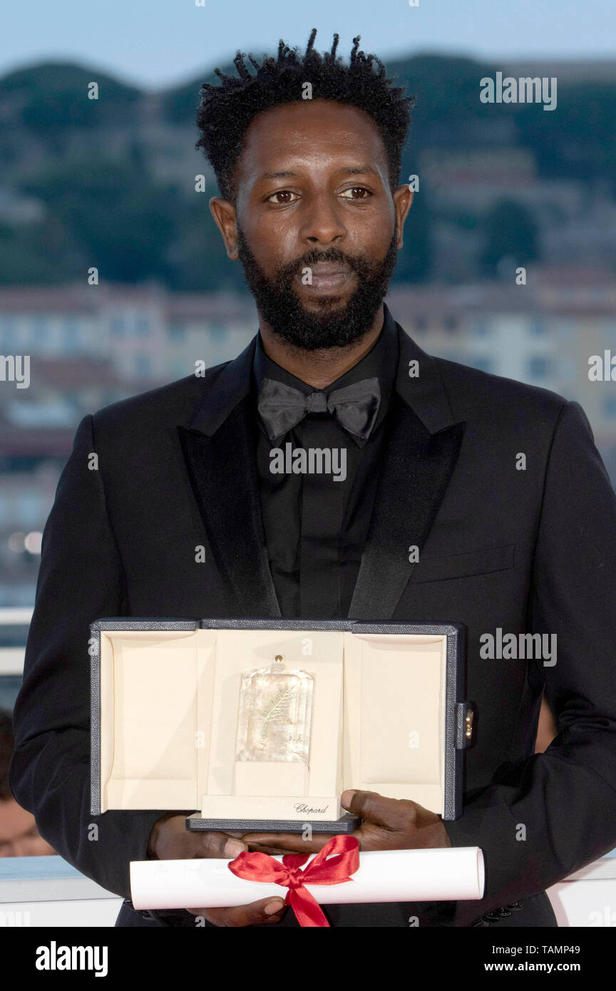 Ladj Ly with the Jury Prize ex-aequo for his movie 'Les