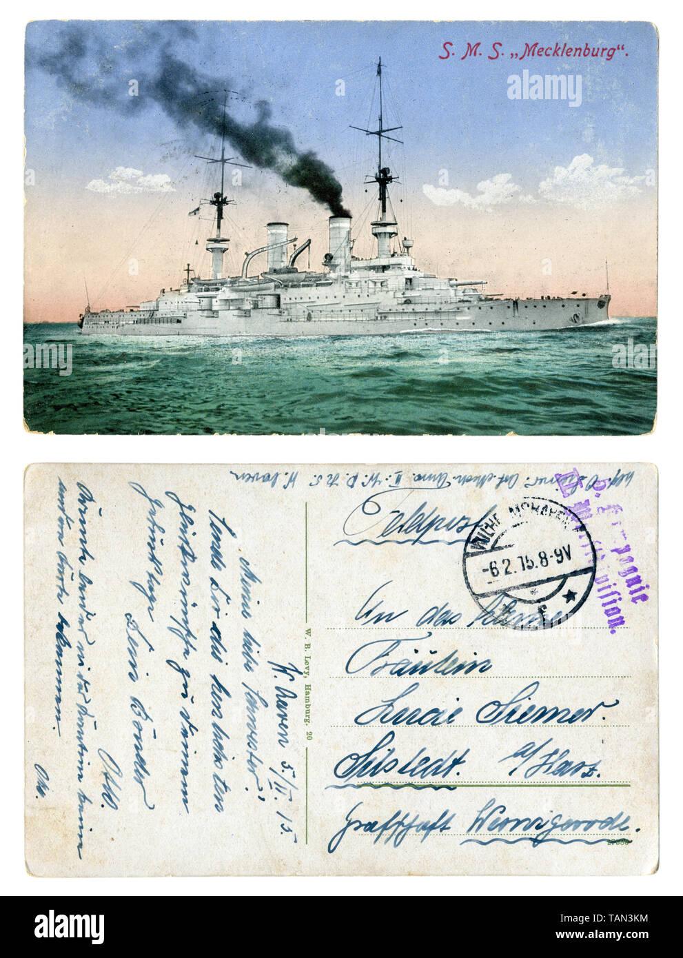 Ww1 Battleship Stock Photos & Ww1 Battleship Stock Images - Alamy