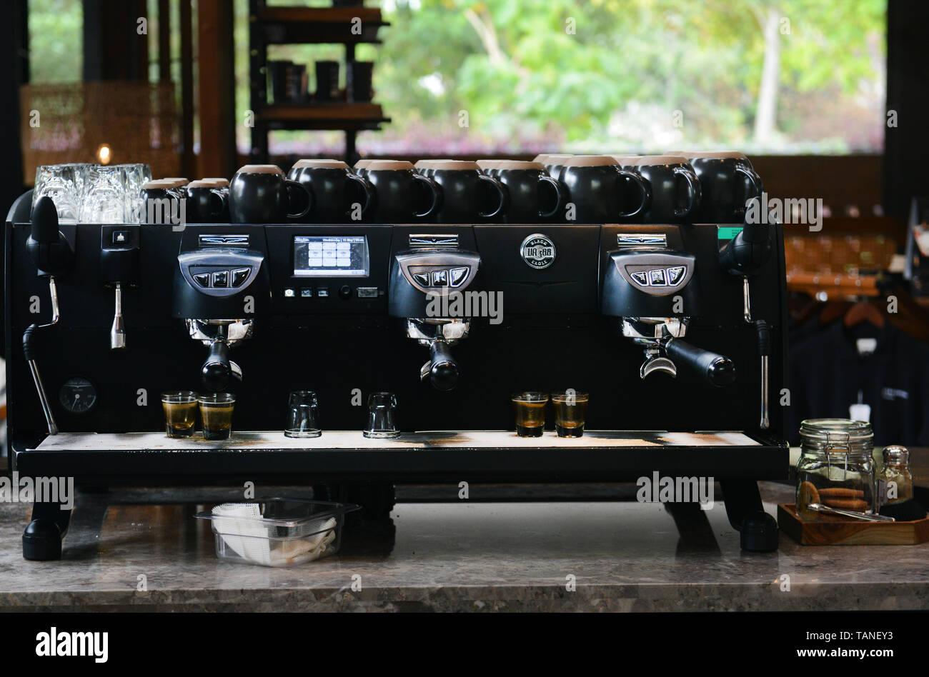 Starbucks Reserve espresso machine. Stock Photo