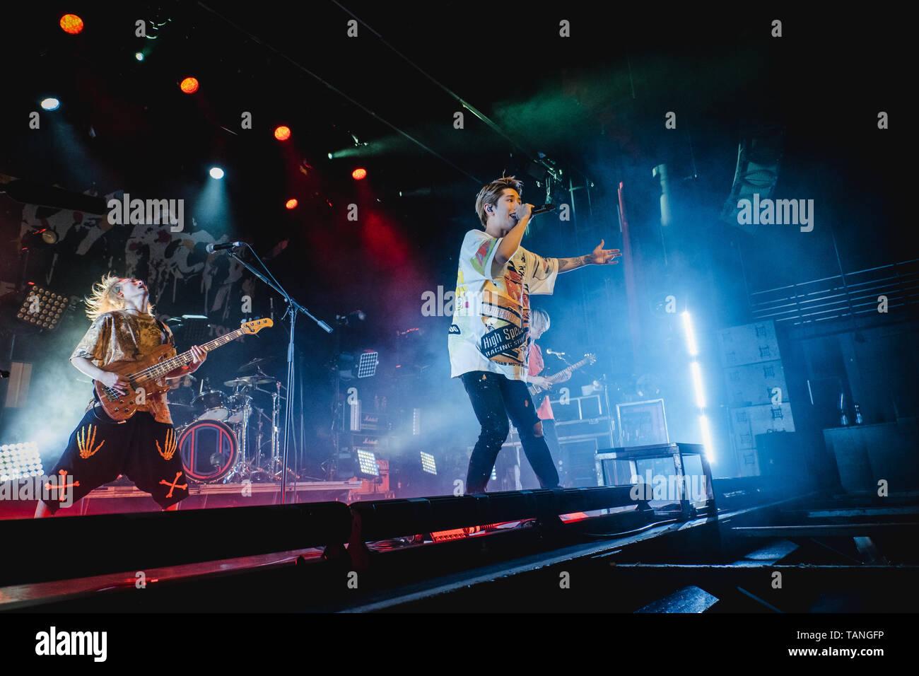 Switzerland, Zurich - May 24, 2019  The Japanese rock band