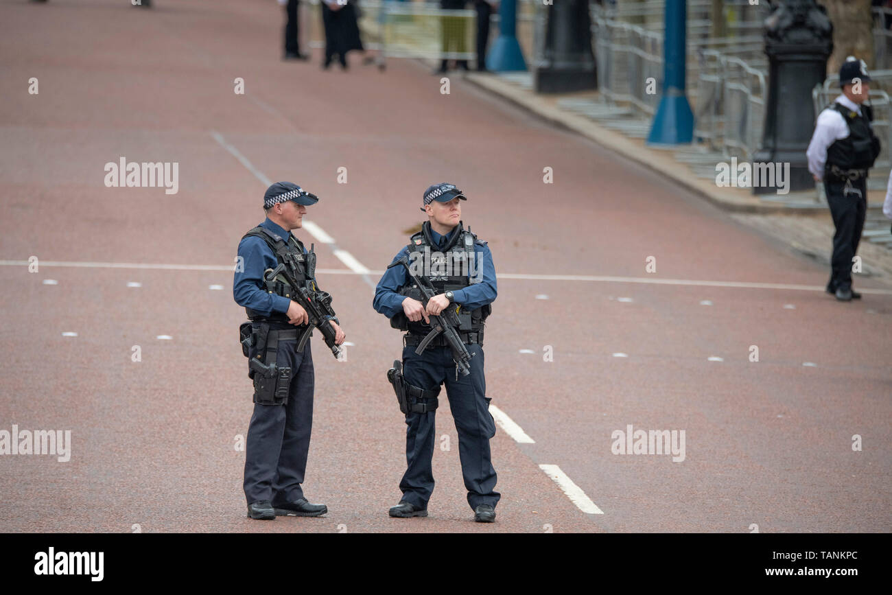 Armed Police Trooping The Colour Stock Photos & Armed Police