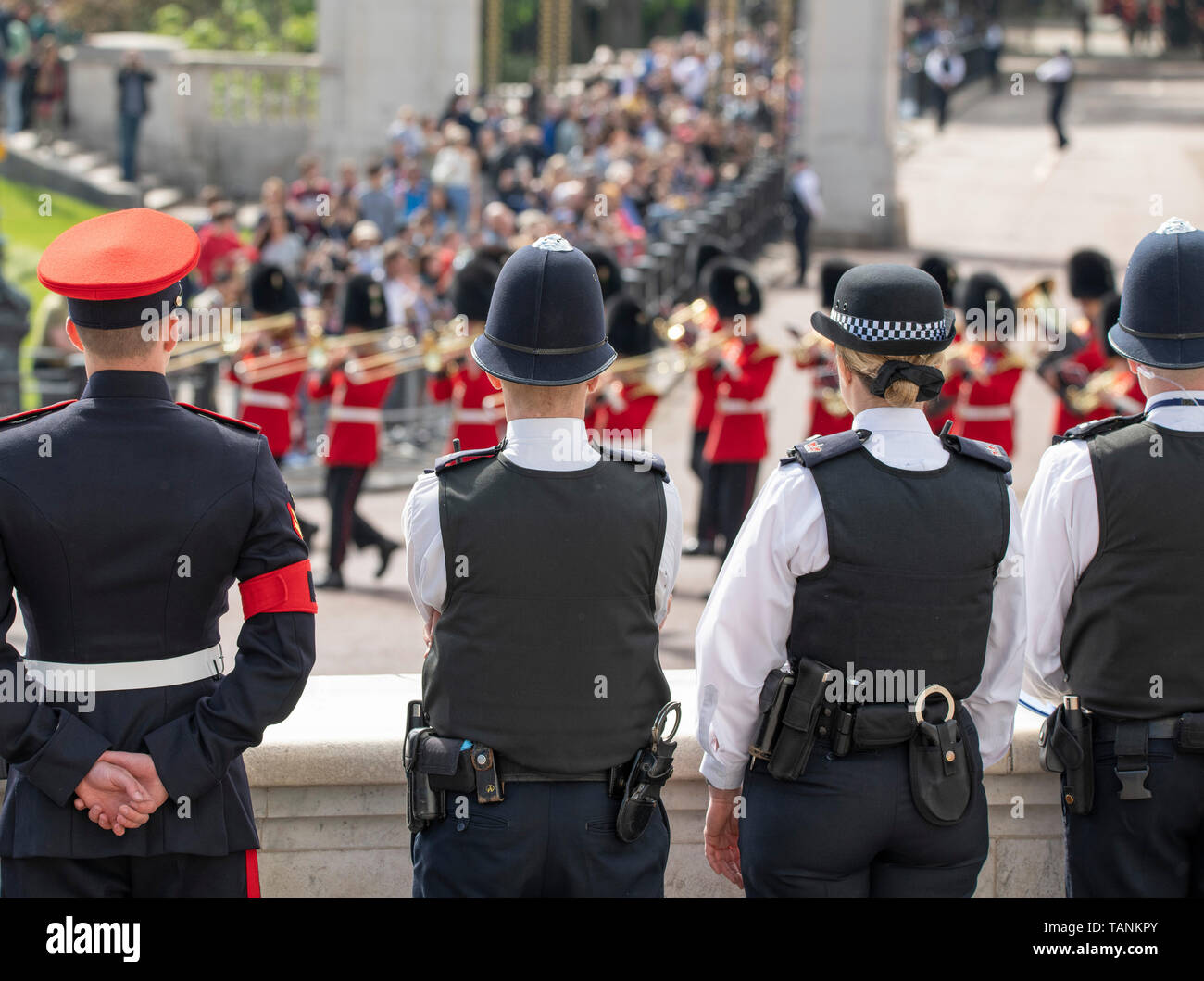 London, UK, 25th May 2019  The Major Generals Review
