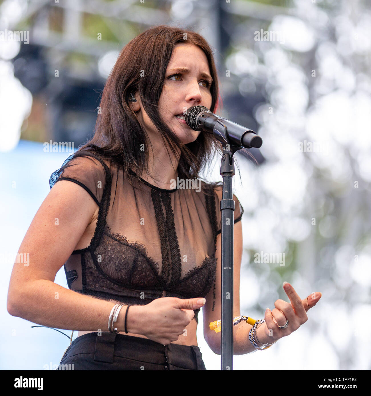 May 26 2019 Napa California U S Chelsea Lee Of Shaed During The Bottlerock Music Festival In Napa California Credit Image C Daniel Deslover Zuma Wire Stock Photo Alamy