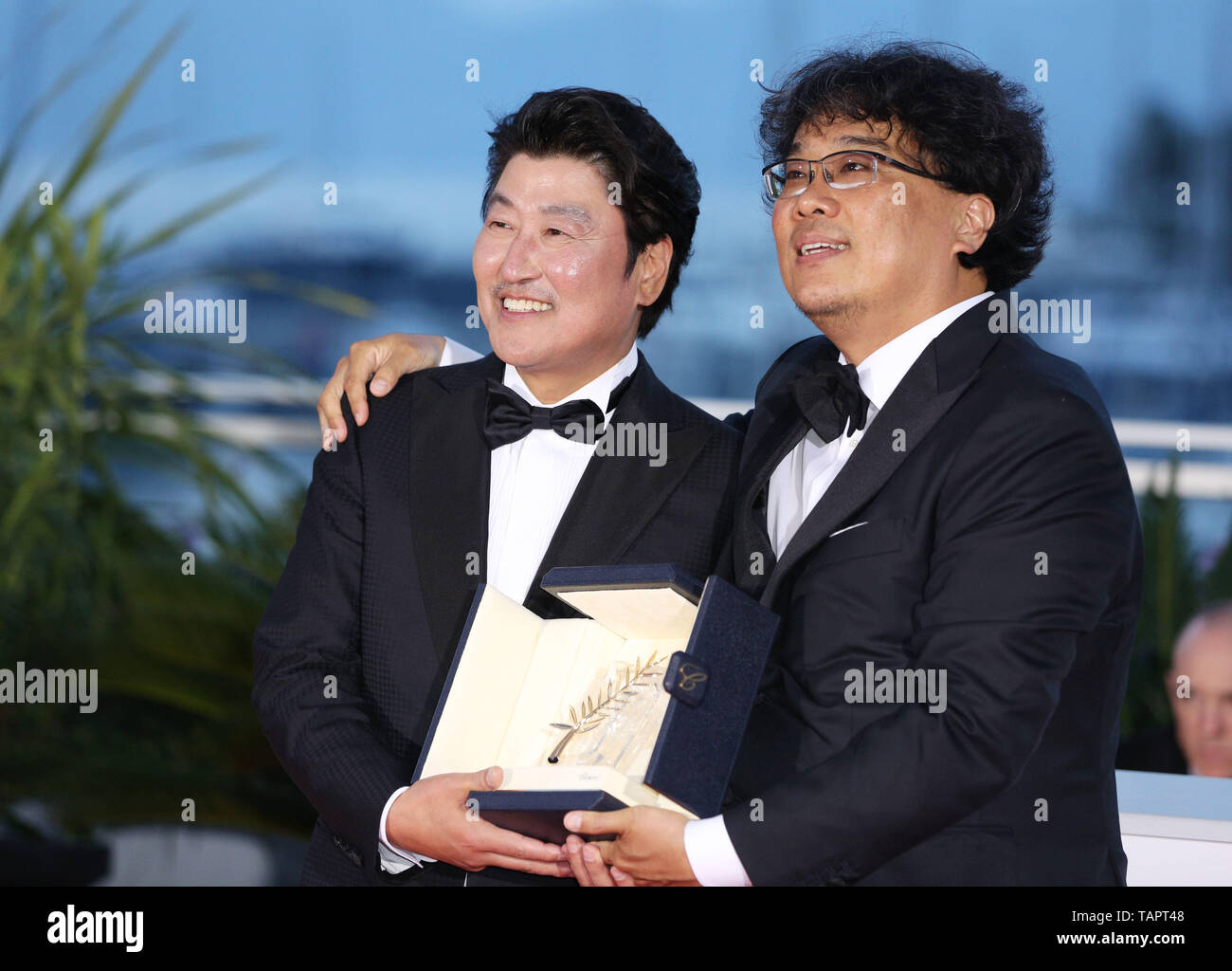 Cannes, France  25th May, 2019  South Korean director Bong