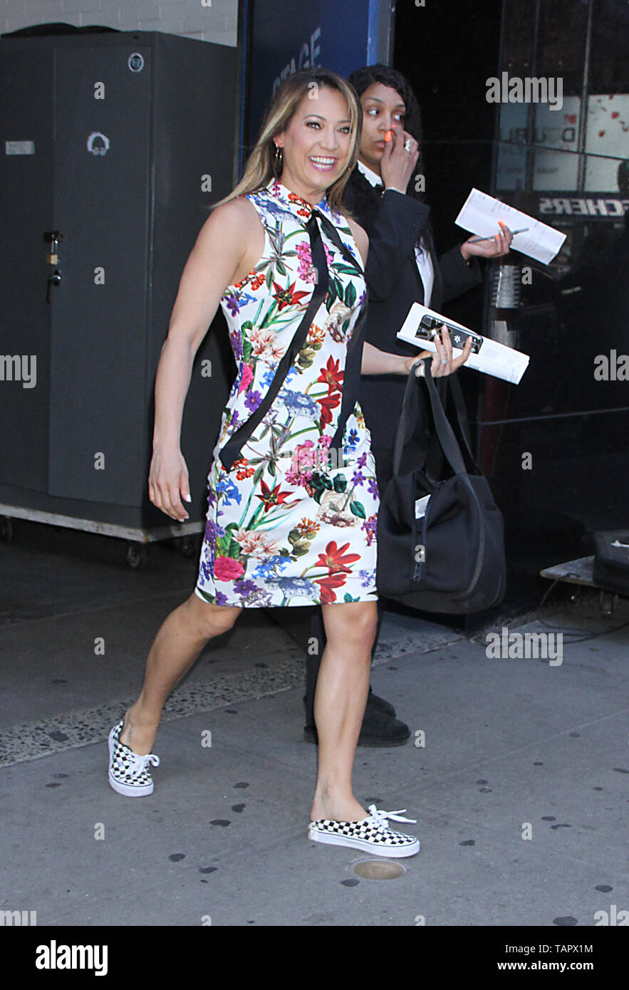 New York, USA. 27th May 2019. Ginger Zee of Good Morning America in New York New York, USA. 27th May 2019. Credit:RW/MediaPunch Credit: MediaPunch Inc/Alamy Live News Stock Photo
