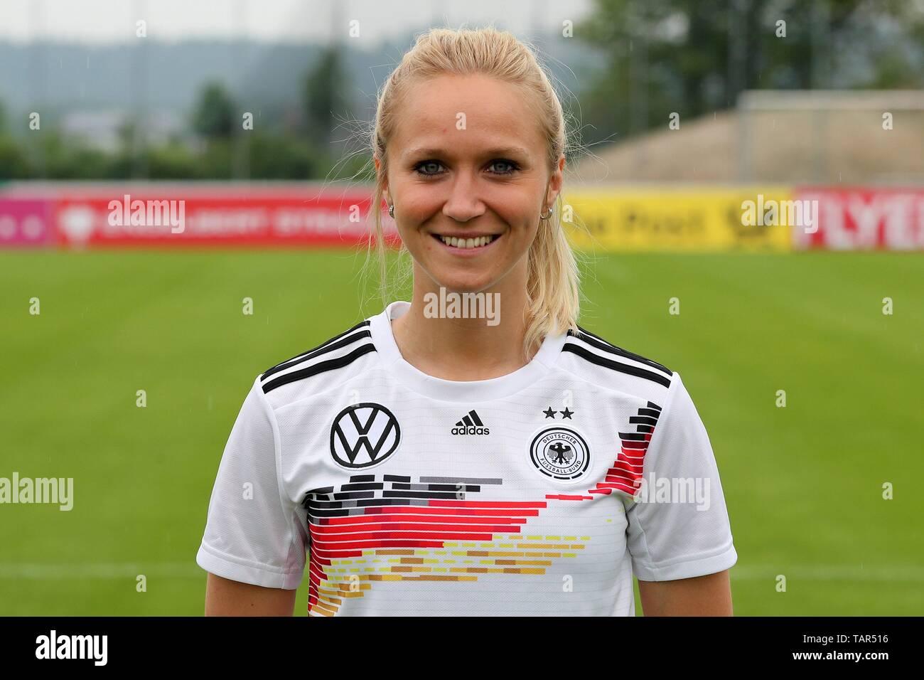 Grassau, Deutschland. 27th May, 2019. firo: 27.05.2019, football, women national team, DFB, portrait shooting, Turid Knaak, Germany, DFB, portrait, | usage worldwide Credit: dpa/Alamy Live News - Stock Image