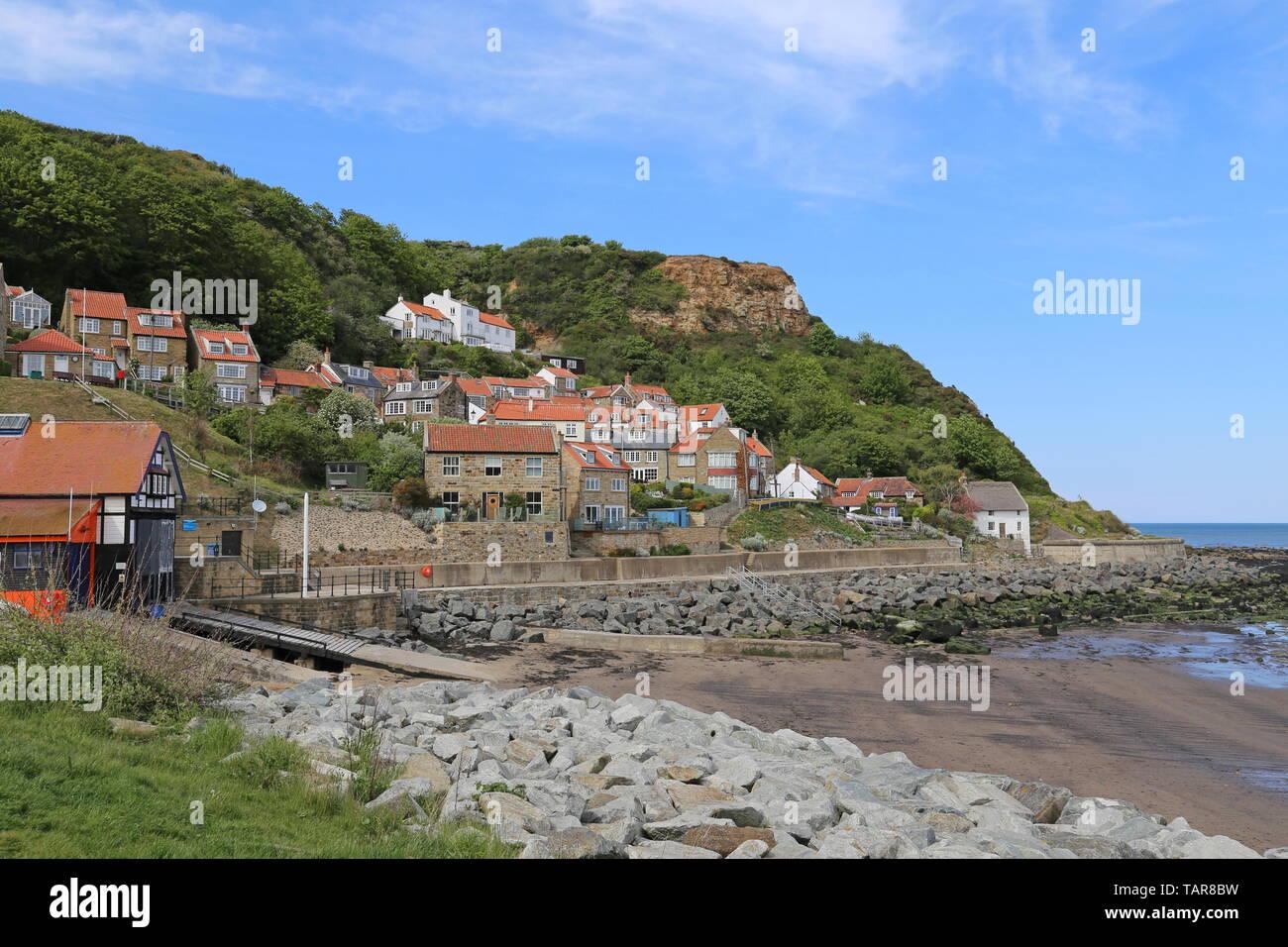 Runswick, Borough of Scarborough, North Yorkshire, England, Great Britain, United Kingdom, UK, Europe Stock Photo