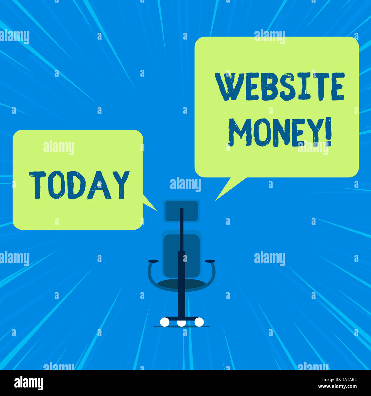 Word writing text Website Money. Business photo showcasing Refers to the website we want to promote Where money is earned - Stock Image