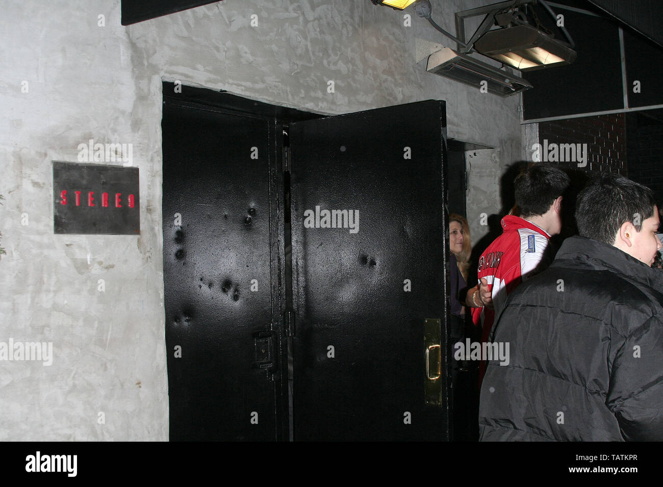 New York, USA. 10 January, 2008. Atmosphere at the 'How to Eat Like a Hot Chick' Book Release Party at Club Stereo. Credit: Steve Mack/Alamy - Stock Image