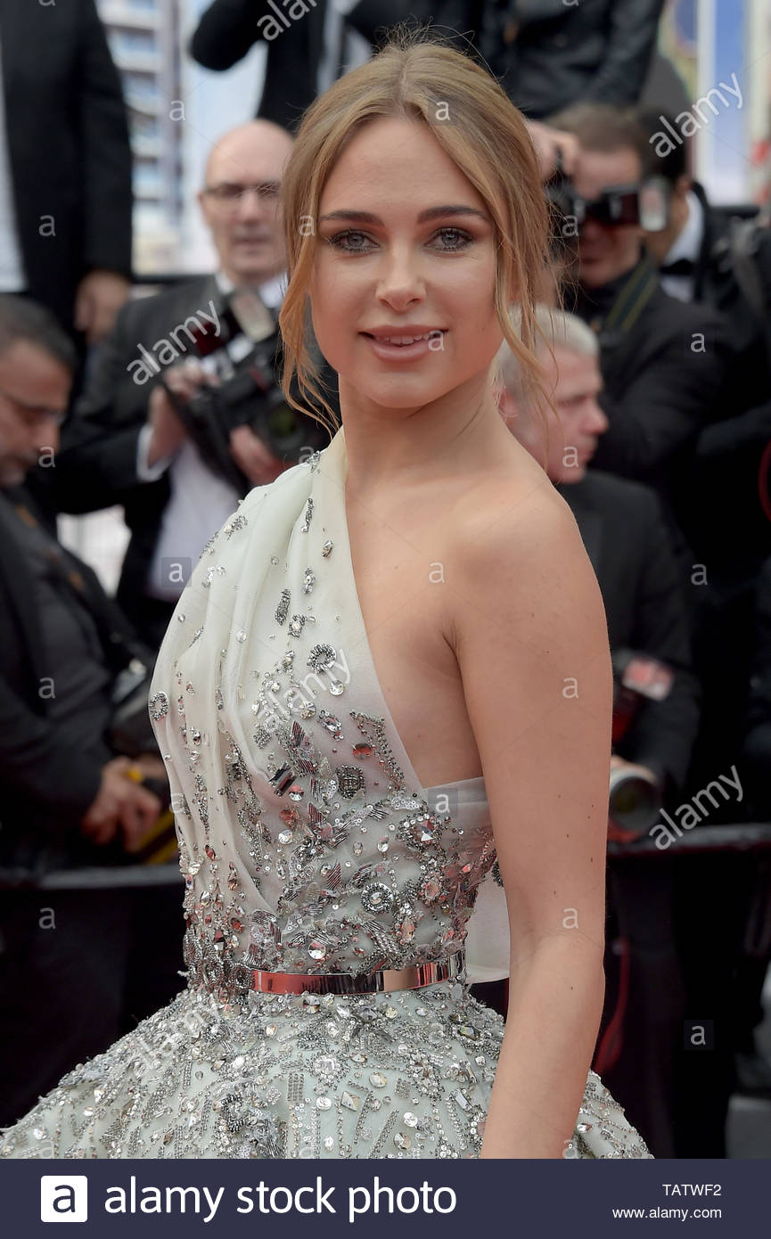 Kimberley Garner Cannes, 23-05-2019 72nd Cannes Film Festival - Stock Image