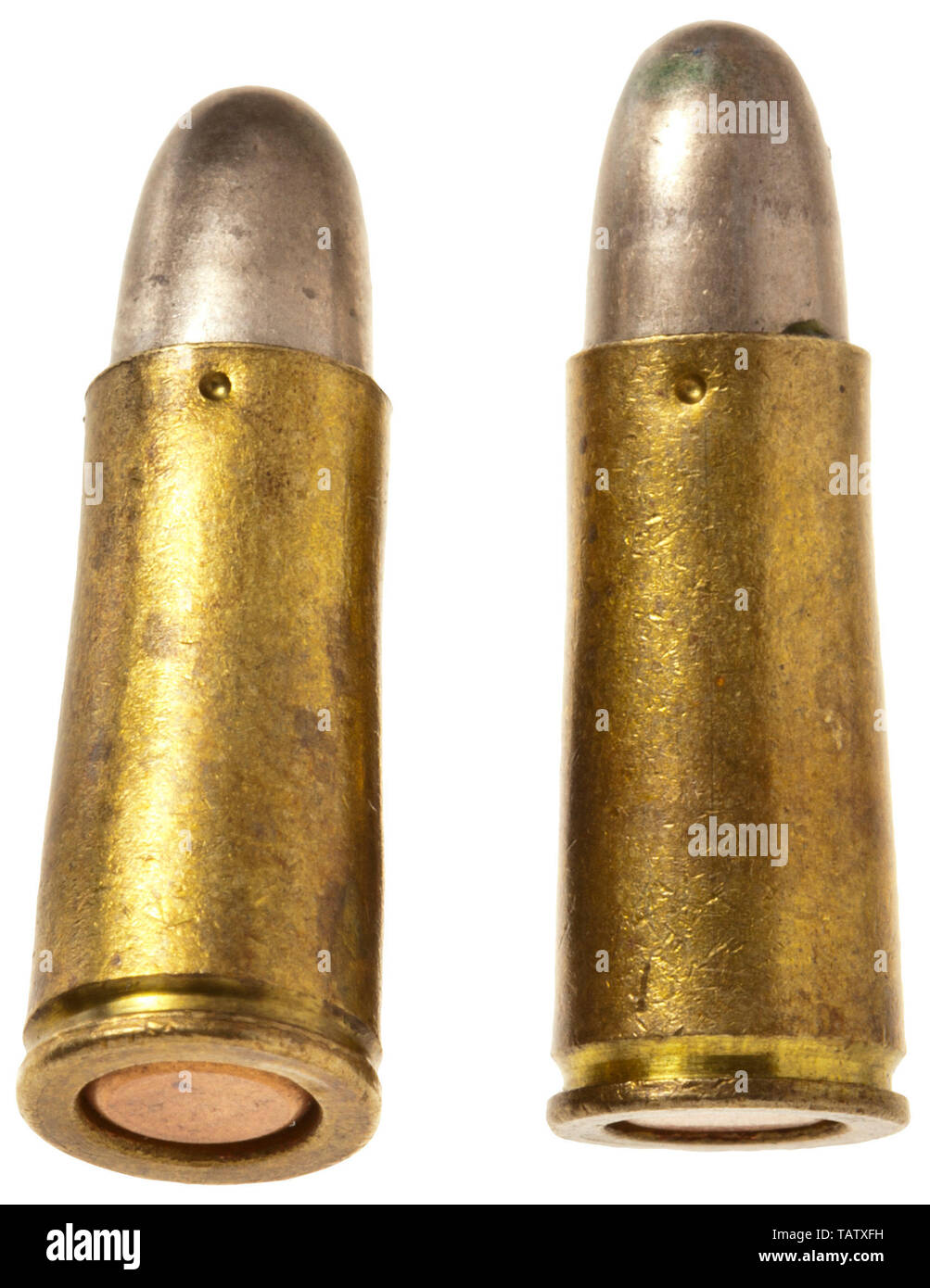 A box with 20 cartridges in 20 mm calibre Bergmann, Manufactured by ...