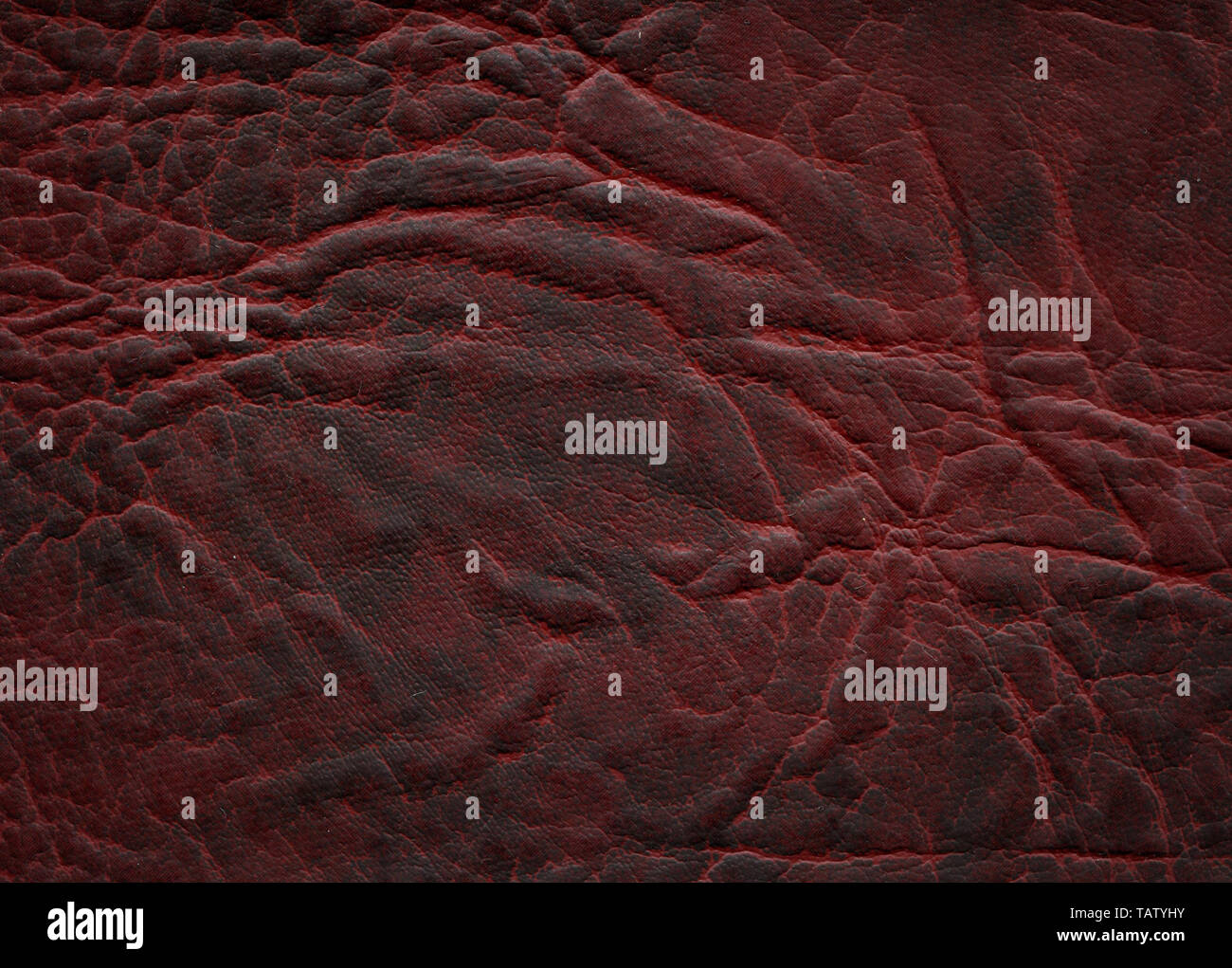 An image of a nice leather background. Cowhide texture. - Stock Image
