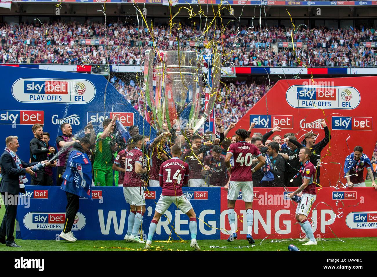 Efl Championship Football Club Winners Stock Photos & Efl