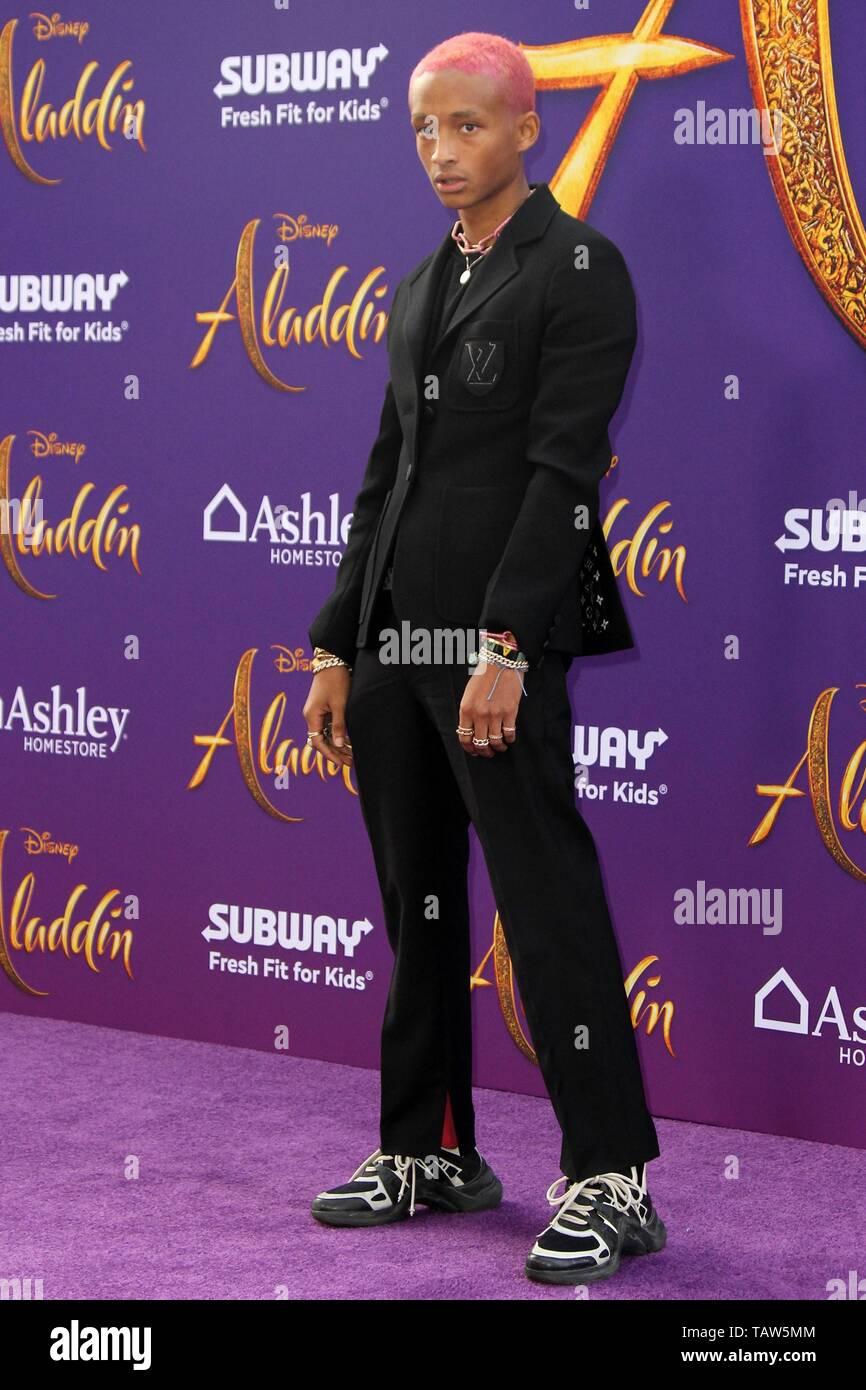 Jaden Smith at arrivals for ALADDIN Premiere, El Capitan Theatre, Los Angeles, CA May 21, 2019. Photo By: Priscilla Grant/Everett Collection - Stock Image